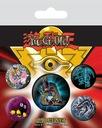 Zestaw 5 przypinek anime Yu-Gi-Oh Dark Magician