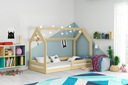 Łóżko dziecięce Domek1 stelaż materac od INTERBEDS Płeć Chłopcy Dziewczynki