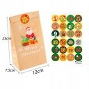24 szt Boże Narodzenie KALENDARZ ADWENTOWY Kraft z Kod producenta 1212