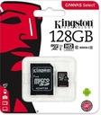 KINGSTON KARTA 128 GB MICRO SD CLASS 10 + CZYTNIK Kod producenta SDCS/128GB