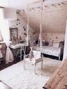 FLOKATI wełniane białe/krem 130x150 cm #FL001 Rodzaj futrzany