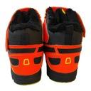Buty zimowe Pomarańczowy Bardzo dobry Zima 40 Dla Cechy dodatkowe brak