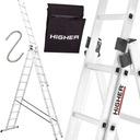Лестница алюминиевая 3x11 HIGHER Professional 8,45 м