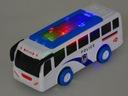 Autobus Policyjny światło dźwięk Policja Model autobus