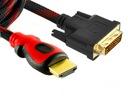 = SUPER KABEL ADAPTER HDMI DVI 1.5m DVI-D FULL HD