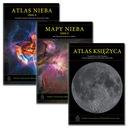 Atlas Nieba 2000.0, Mapy Nieba i Atlas Księżyca