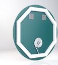Lustro okrągłe 70cm podświetlane LED łazienkowe Typ lustra ścienne