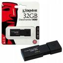 KINGSTON PENDRIVE PAMIĘĆ DT100 G3 USB 3.0 32 GB Kolor czarny