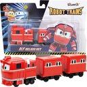 Robot Trains pojazdy z wagonikiem delux pociąg Alf
