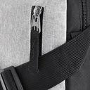 ZAGATTO torba męska mała saszetka sportowa ramię Kolor czarny szary