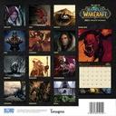 World Of Warcraft Oficjalny kalendarz 2021 Rok wydania 2020