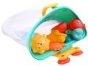 STATEK organizer kolor gumowe zabawki do kąpieli Bohater brak