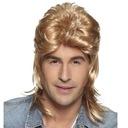 blond PERUKA włosy RETRO lata 70 80 JIMMY bujne