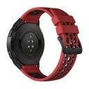 Smartwatch Huawei Watch GT 2e 46mm czerwony Materiał paska / bransolety guma