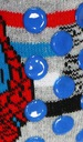 SPIDERMAN PANTOFLE SKARPETKI DLA DZIECKA 27/28 Bohater Spiderman