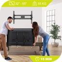 MOCNY UCHWYT TV WIESZAK DO TELEWIZORA 32-65 CALI Maksymalne obciążenie 55 kg