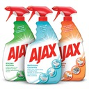 AJAX zestaw do czyszczenia domu spray 3x750 ml Waga 2.523 kg
