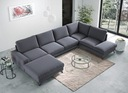 Flavio – Wersja U-form TOP Sofa Salon Katowice Wysokość mebla 91 cm