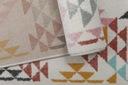 Dywan pastelowy młodzieżowy 160x220 cm Trójkąty Płeć Brak informacji