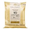 Czekolada Callebaut W2 BIAŁA do pralin 400g
