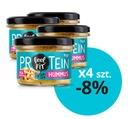 Feel FIT 4 x hummus proteinowy z czarnuszką 185 g