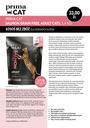 Prima Cat Salmon Grain Free 1,4 kg Łosoś bez zbóż Kod producenta 9134