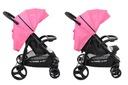 Wózek spacerowy NEVADA Summer Baby kolor różowy Kod producenta NE27-SU