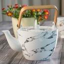VILLA ITALIA MARMO Serwis do kawy herbaty na 6os Kształt Okrągły