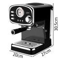 Ciśnieniowy Ekspres do kawy Yoer 1100W 15bar 10kaw Materiał metal tworzywo sztuczne