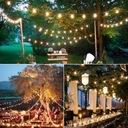 Girlandy Lampki Solarna żarówką Ogrodowa 10 LED EAN 053742585052