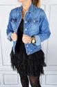 Katana Kurtka Jeans Klasyczna Jeansowa Plus Size Płeć Produkt damski