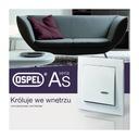 OSPEL As рамка одиночная белая R-1G/00