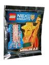 Lego Nexo Knights - saszetka - Merlok 2.0
