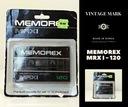 MEMOREX MRX I -120 NOS