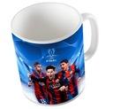 (КРУЖКА FC BARCELONA Лионель Месси Подарок + Коробка) доставка товаров из Польши и Allegro на русском