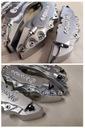 Nakładki 3D zaciski hamulce BREMBO L+M Srebrne /bi Producent inny