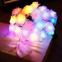 Girlandy Lampki Rose Ogrodowe Solarne 30 LED 6.5m Długość 650 cm