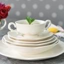 VILLA ITALIA SAKURA Serwis obiadowy + kawowy 6/42 Linia SAKURA WHITE