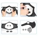 Maska maseczka Antywirusowa Antysmogowa + 3 FILTRY Rodzaj wielokrotnego użytku