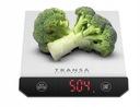Waga kuchenna elektroniczna INOX LED TRANSA Dokładność pomiaru 1 g