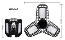 LAMPA ŻARÓWKA E27 LED GROW DEFORMOWALNA 80W IP65 Kod produktu LG80WD
