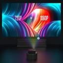 PROJEKTOR RZUTNIK LCD FULL HD 2500LM GŁOŚNIK 140'' Technologia wyświetlania LED