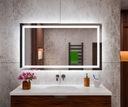 Lustro Łazienkowe Podświetlane 120x70 LED MALAGA Producent MEGADO