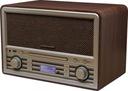 NOWOCZESNE RADIO CYFROWE DAB+ FM CD MP3 AUX IN BT