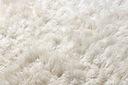 FLOKATI wełniane białe/krem 130x150 cm #FL001 Kształt Prostokąt