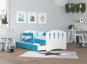 Łóżko HAPPY 160x80 + szuflada + materac Kolor biel