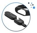 ŁADOWARKA USB DO OPASKI SPORTOWEJ XIAOMI MI BAND 3 Materiał paska tworzywo sztuczne