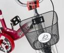 Rower BMX 12 Dziecięcy Rowerek KOSZ PROWADNIK Kolor czerwony