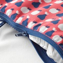 IKEA ANTILOP Poduszka + pokrowiec krzesełka kolor Kolor Odcienie czerwieni Odcienie niebieskiego Wielokolorowy