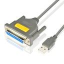 Kabel Adapter USB DB25F Port LPT Równoległy Drukar